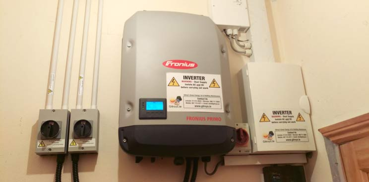 blog-post-photovoltaic-solar-system-installed-on-a-GAA-club-in-Co-Clare_inverter