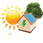 Gilroy's PV Panels & Energy Solutions Logo
