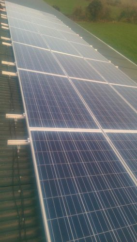6 Kwh Photovoltaic Solar System That We Have Installed On