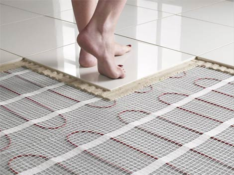 underfloor heating tiles